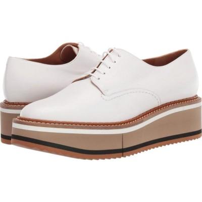 ロベール クレジュリー Clergerie レディース ローファー・オックスフォード シューズ・靴 Berlin 3 White Nappa
