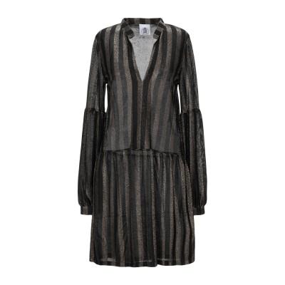 LE VOLIÈRE ミニワンピース&ドレス ゴールド L ポリエステル 100% ミニワンピース&ドレス
