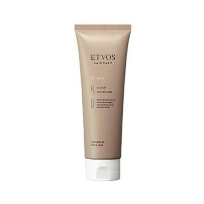 ETVOS(エトヴォス) リペアトリートメント 180g ノンシリコン ノンカチオン ダメージケア 毛髪補修成分 カチオン界面活性剤フリー