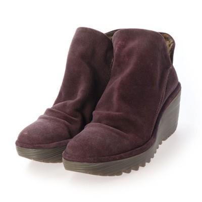 ヨーロッパコンフォートシューズ EU Comfort Shoes ショートブーツ (パープル)