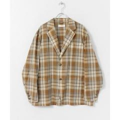 アーバンリサーチドアーズunfil sheer wool oversized Jacket【お取り寄せ商品】