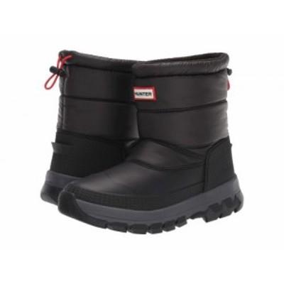 HUNTER ハンター レディース 女性用 シューズ 靴 ブーツ スノーブーツ Original Insulated Snow Boot Short Black【送料無料】