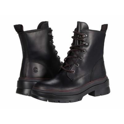 ティンバーランド ブーツ&レインブーツ シューズ レディース Malynn EK+ Waterproof Mid Lace Boot Black Full Grain