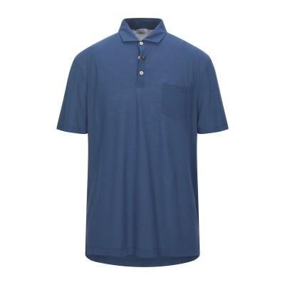 ヘリテージ HERITAGE ポロシャツ ブルー 56 コットン 100% ポロシャツ
