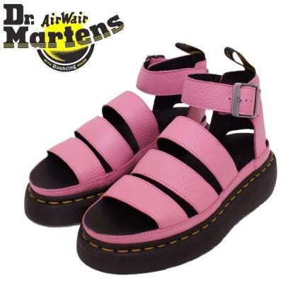 Dr.Martens (ドクターマーチン) 24476687 WMS CLARISSA 2 QUAD クラリッサ レディース ストラップ レザーサンダル SOFT PINK