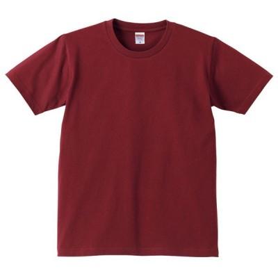 Tシャツ メンズ レディース 半袖 無地 丸首 大きい 綿 綿100 シャツ tシャツ スポーツ クルーネック ブランド トップス 男 女 丈夫 s m l 2l 3l 4l ワイン 赤