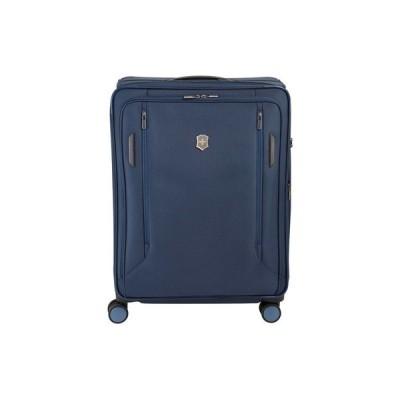 """ビクトリノックス Victorinox Swiss Army レディース スーツケース・キャリーバッグ バッグ VX Avenue 25"""" Medium Expandable Softside Spinner Suitcase Blue"""