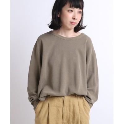 tシャツ Tシャツ M1464 ピグメントサーマルフレアプルオーバー