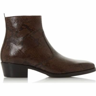 デューン Dune London レディース ブーツ ウェスタンブーツ シューズ・靴 Milling Western Boots Brown