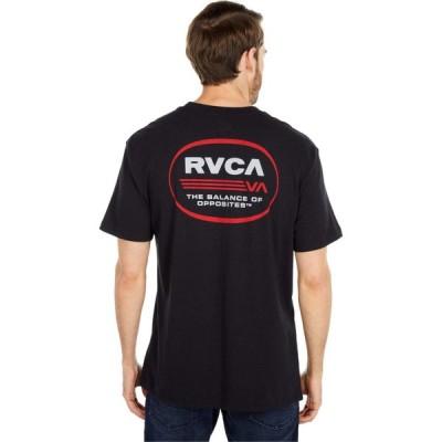 ルーカ RVCA メンズ トップス Oval Short Sleeve Black