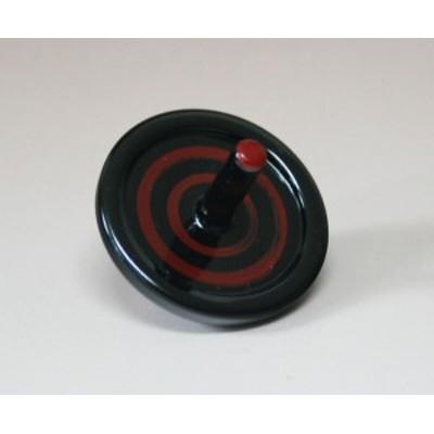 箸置き 独楽 黒  001-1781