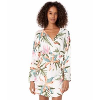 ハーレー レディース ワンピース トップス Tama Wrap Long Sleeve Dress Pink Glow