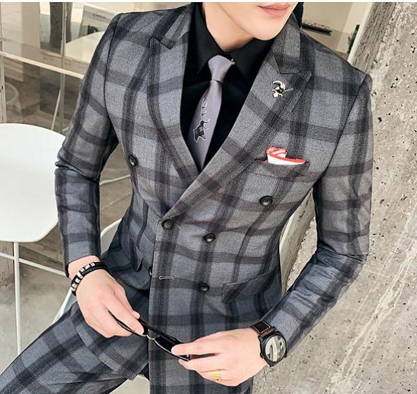 (45 Design)男西裝女西裝西裝外套西裝套裝西裝男女西裝外套套裝襯衫婚禮服雪紡西裝外5