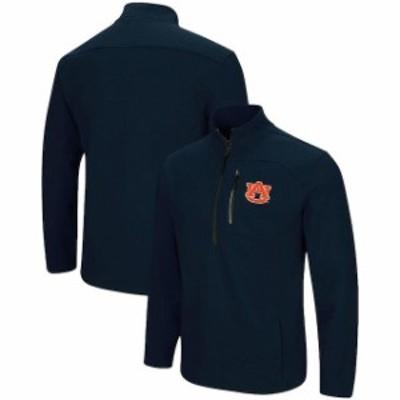 Colosseum コロセウム スポーツ用品  Colosseum Auburn Tigers Navy Townie Half-Zip Pullover Jacket
