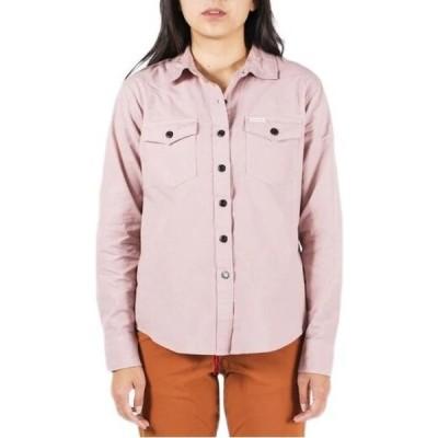 トポ デザイン Topo Designs レディース ブラウス・シャツ トップス lightweight mountain shirt Haze