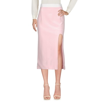 KARLA ŠPETIĆ 7分丈スカート ピンク 8 シルク 100% 7分丈スカート