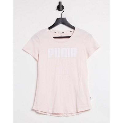 プーマ Puma レディース Tシャツ トップス Rebel Graphic Tshirt In Pink ローズウォーター