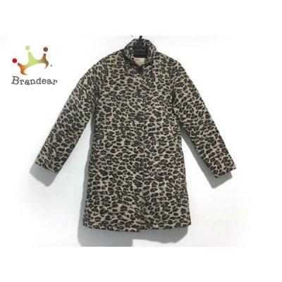 トラディショナルウェザーウェア コート サイズ34 M レディース 美品 キルティング/豹柄/冬物         スペシャル特価 20200813