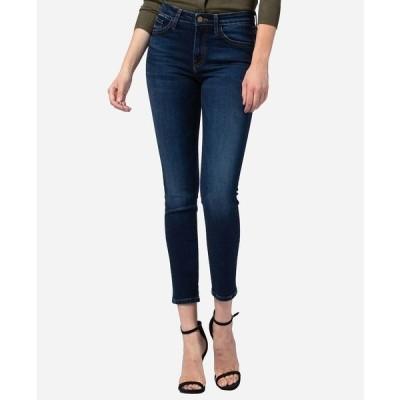 フライングモンキー デニムパンツ ボトムス レディース Mid Rise Skinny Jeans Navy