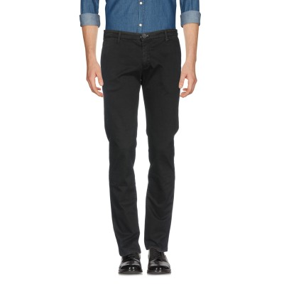 LIU •JO MAN パンツ ブラック 44 コットン 97% / ポリウレタン 3% パンツ