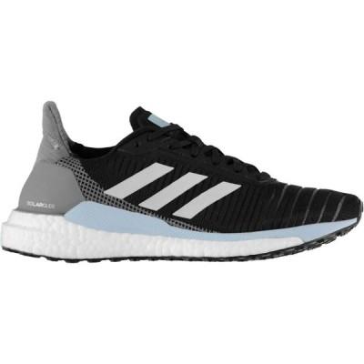 アディダス adidas レディース ランニング・ウォーキング シューズ・靴 Solar Glide Running Shoes Black/Gry/Blue