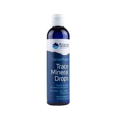 海外直送品Trace Minerals ConcenTrace Trace Mineral Drops, 8 oz並行輸入品