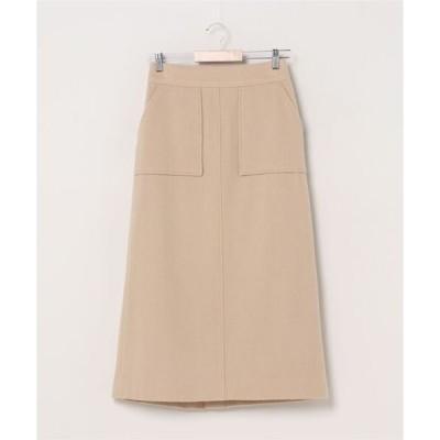 スカート Ray BEAMS / モッサ ロング タイト スカート