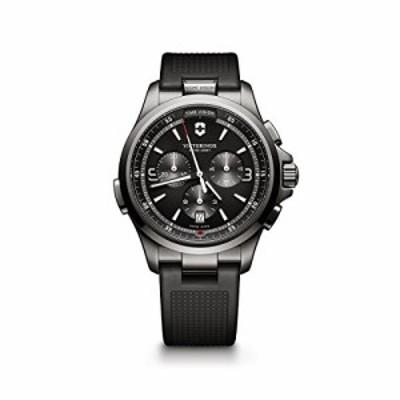 腕時計 ビクトリノックス スイス Victorinox Men's Night Vision Titanium Swiss-Quartz Watch with Ru