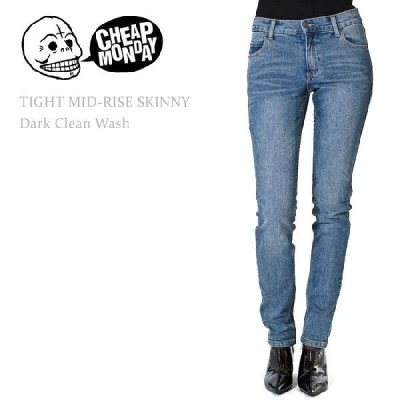 【SALE】 Cheap Monday チープマンデー TIGHT Mid-Rise Skinny Dark Clean Wash スキニー