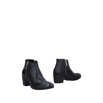 BRUSCHI ショートブーツ ブラック 36 革 ショートブーツ