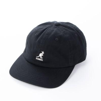 カンゴール KANGOL キャップ kangol Washed Baseball Cap BLACK 105169002 (ブラック)