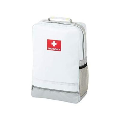 非常持出袋 plus+ 玄関やリビングにも違和感なく置けるスタイリッシュな防災リュック (ホワイト)