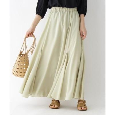 aquagirl / アクアガール ドレープロングスカート