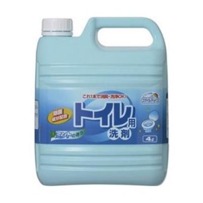 まとめ売りミツエイ スマイルチョイス トイレ用洗剤業務用 4L 1セット(3本) ×3セット 生活用品 インテリア 雑貨 トイレ用品 トイレ洗