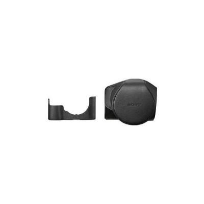 ケース バッグ カバー ロキノン Sony Leather Jacket Case for Alpha a7II Camera and Lens #LCSELCB/B