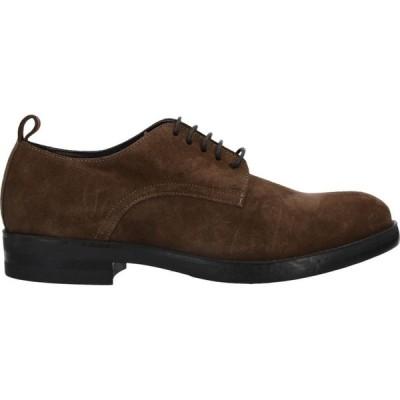 ボエモス BOEMOS メンズ シューズ・靴 laced shoes Brown