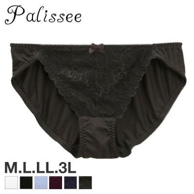 Palissee 大きな胸を小さく見せる フロントレース スタンダード ショーツ M L LL 3L 大きいサイズ 単品(38813888)