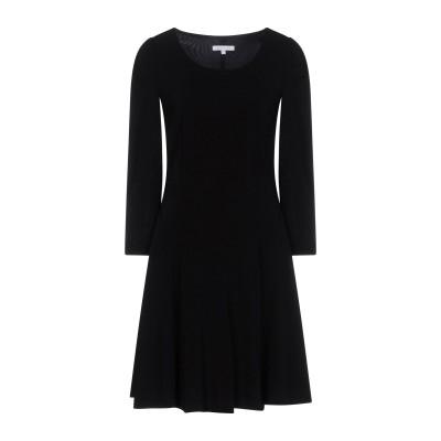 パトリツィア ペペ PATRIZIA PEPE ミニワンピース&ドレス ブラック 46 95% レーヨン 5% ポリウレタン ミニワンピース&ドレス