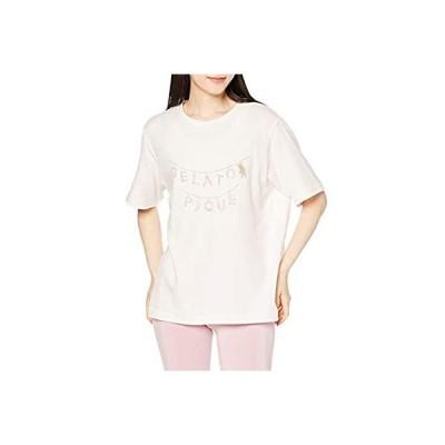 [ジェラート ピケ] モーニングベアワンポイントTシャツ PWCT211308 レディース PNK F