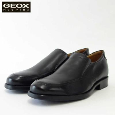ジェオックス GEOX  U 2257Z ブラック(メンズ) 上質レザーのビジネスシューズ