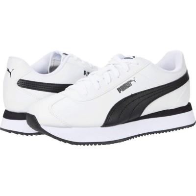 プーマ PUMA レディース スニーカー シューズ・靴 Turino Stacked Puma White/Puma Black