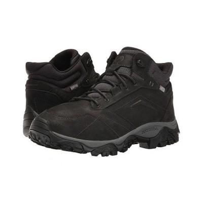 Merrell メレル メンズ 男性用 シューズ 靴 ブーツ ハイキング トレッキング Moab Adventure Mid Waterproof - Black