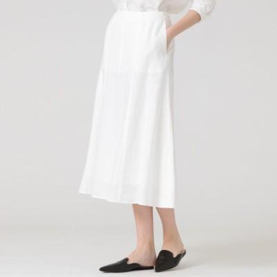 70フレンチ麻スカート