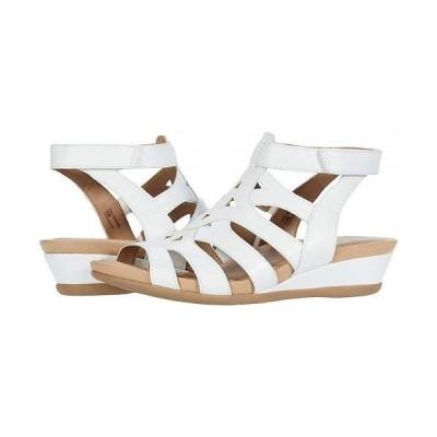 Earth アース レディース 女性用 シューズ 靴 ヒール Pisa Chatham - White Pig Skin Chrome Free