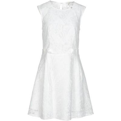 コッカ KOCCA ミニワンピース&ドレス ホワイト M レーヨン 68% / ポリエステル 32% ミニワンピース&ドレス