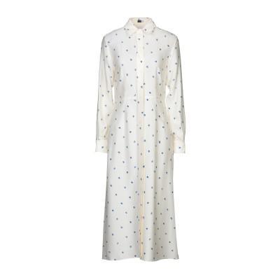 ジョゼフ JOSEPH 7分丈ワンピース・ドレス アイボリー 36 シルク 100% 7分丈ワンピース・ドレス
