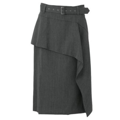 【MIHOKO SAITO】ウエストベルトポイントスカート