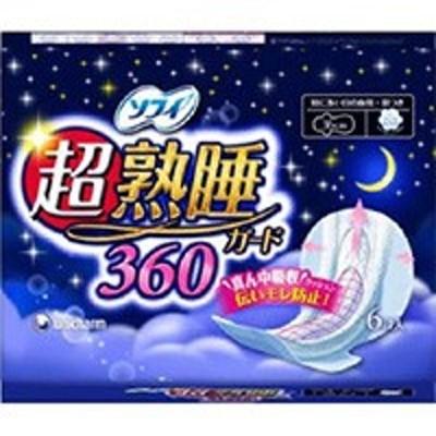 ソフィ 超熟睡ガード360(羽つき) 6コ入
