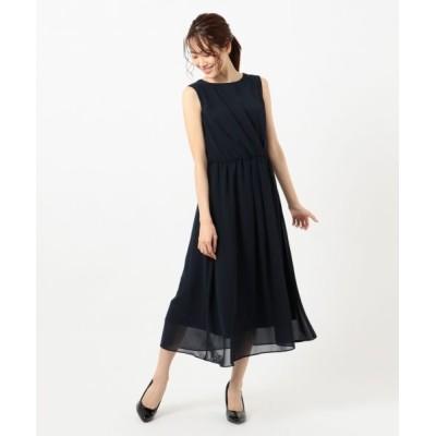 any SiS/エニィスィス 【洗える】アシメタックミディ ドレス ネイビー 3