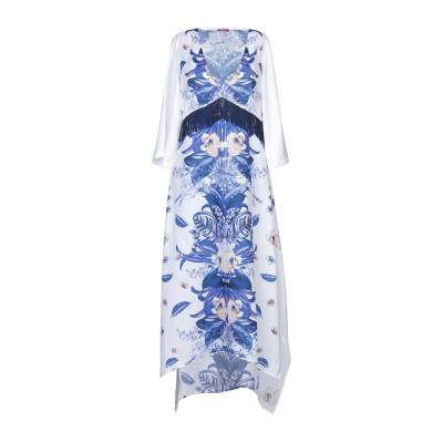 リュー ジョー LIU •JO 7分丈ワンピース・ドレス ホワイト XS ポリエステル 100% 7分丈ワンピース・ドレス